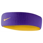 Testeira Nike Headband Dri-Fit Dupla Face Purple & Yellow
