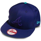 Bon� New Era Atlanta Braves Tonal Roxo - Snapback