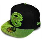 Boné New Era Chicago Cubs Black & Green