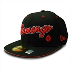 Bon� New Era Flamengo Black Aba Reta