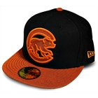 Boné New Era Chicago Cubs Black & Orange